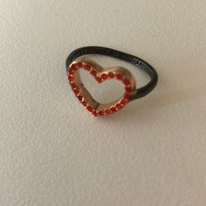 Marc by Marc Jacobs rose gold Heart Ring ...size 6